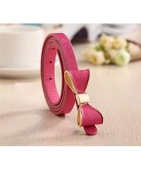 Lifestyle Dámský pásek s mašlí růžový