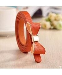 Lifestyle Dámský pásek s mašlí oranžový