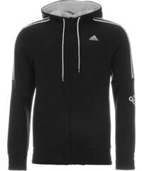 Mikina Adidas Three Stripe Logo - černá/bílá