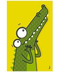 Série-Golo Nástěnný obraz - Krokodýl