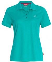Vittorio Rossi Damen Poloshirt T-Shirt körperbetont blau