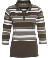 Michèle Boyard Damen Poloshirt T-Shirt grün aus Baumwolle