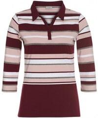 Michèle Boyard Damen Poloshirt T-Shirt rot aus Baumwolle