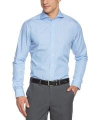 Arrow Herren Businesshemd Slim Fit, gestreift 010053/13 Broadway NOS Shark 1/1 W102
