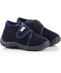Esprit Domácí obuv z textilu na suchý zip