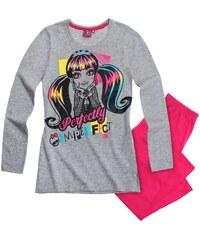 Monster High Pyjama pink in Größe 128 für Mädchen aus Oberteil: 90% Baumwolle 10% Viskose Hose: 100% Baumwolle