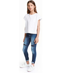 H&M Skinny Fit Jeans s flitry