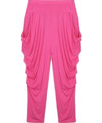 Lesara Hose mit tiefem Schritt - Pink - 36