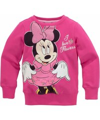 DISNEY Sweatshirt mit Minnie Mouse Druckmotiv