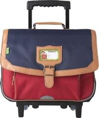 Tann's Schulrucksack mit Rollen - blau