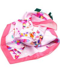 Guess hedvábný barevný šátek