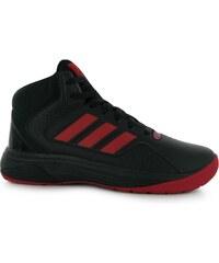 basketbalové boty adidas Hoop Fury pánské Basketball Trainers Black/Red