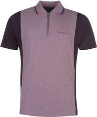 Pierre Cardin Zip Neck Polo pánské Purple