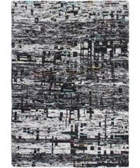 Ručně tkaný kusový koberec SAREE DE LUX 820 GRAPHITE, Rozměry 120x170 Obsession