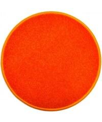 Eton oranžový koberec kulatý, Rozměry 57x57 - kruh Vopi