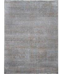 Ručně vázaný kusový koberec Diamond DC-JK 1 Silver/mouse, Rozměry 180x275 Diamond Carpets