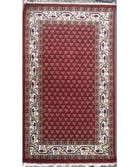Ručně tkaný perský koberec Crimson Cloud Red, Tiwary Carpets (hand knotted), Rozměry 93x160 Tiwari Handmade Carpets India