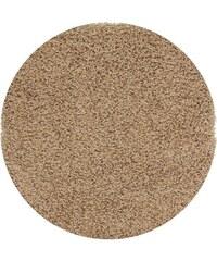 Kusový koberec PRIM SH070/B43 N. Beige KRUH, Rozměry 100x100 kruh Sofiteks