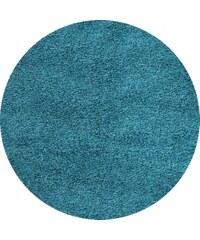 Kusový koberec Dream Shaggy 4000 Turkis kruh, Rozměry 120x120 kruh Ayyildiz Teppiche
