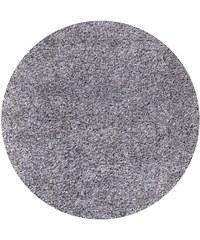 Kusový koberec Life Shaggy 1500 light grey kruh, Rozměry 80x80 kruh Ayyildiz Teppiche