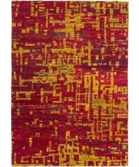 Ručně tkaný kusový koberec SAREE DE LUX 820 MAGMA, Rozměry 120x170 Obsession