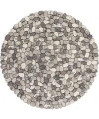 Kusový koberec STEP 740 STONE-2, Rozměry 120x120 kruh Obsession