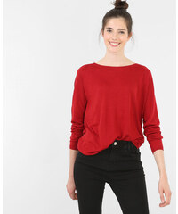 Pull basique léger rouge, Femme, Taille L -PIMKIE- MODE FEMME