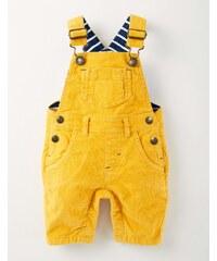 Klassische Cordlatzhose Gelb Baby Boden