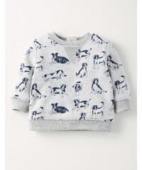 Gemütliches Sweatshirt Grau Baby Boden