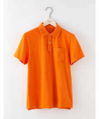 Genopptes Poloshirt Orange Herren Boden