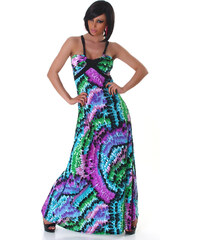 000 Dámské šaty letní maxi Puprle