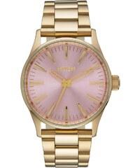 Nixon Sentry 38 SS Gold/Pink Damenuhr A450 2360