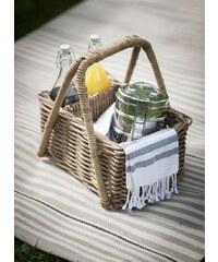 Garden Trading Proutěný košík na piknik Bembridge
