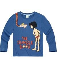 Disney Das Dschungelbuch Langarmshirt blau in Größe 98 für Jungen aus 100% Baumwolle