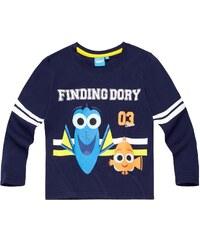 Disney Findet Dorie Langarmshirt marine blau in Größe 98 für Jungen aus 100% Baumwolle
