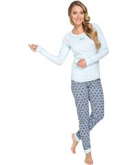 Italian Fashion Dámské pyžamo Zoja modré
