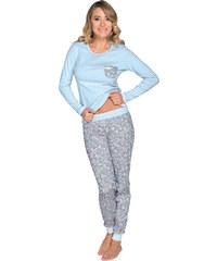 Italian Fashion Dámské pyžamo Molly modré