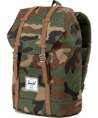 Herschel Retreat Rucksack woodland camo/Tan