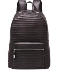 Pánský celokožený batoh Sammons hnědý
