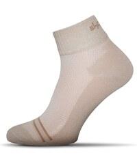 Vzdušné béžové pánské ponožky