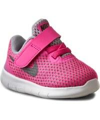 Schuhe NIKE - Nike Free Rn (TDV) 834042 600 Pnk Blast/Mtllc Slvr/White/Blk