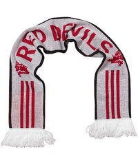 adidas MUFC Manchester United Scarf White/Red/Black