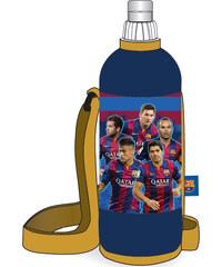 SunCe Láhev na pití v termo obalu - FC Barcelona, 750 ml