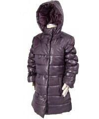 Bugga Dívčí zimní kabát - šedý