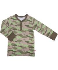 nOeser Dětské maskáčové tričko - zelené