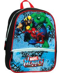 SunCe Junior batůžek s přední kapsou, polstrovaná záda - Marvel Heroes