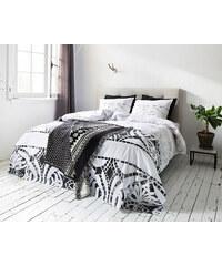 Dreamhouse Bedding Parure housse de couette 200x200/220 cm + 2 taies d'oreiller 60x70 cm Pompei - gris
