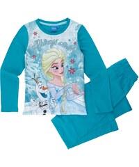 Disney Die Eiskönigin Pyjama blau in Größe 104 für Mädchen aus Vorderseite: 100% Polyester 100% Baumwolle