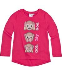 LamaLoLi Langarmshirt pink in Größe 104 für Mädchen aus 100% Baumwolle