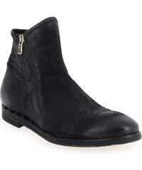 Boots Homme AirStep - AS98 en Cuir Noir